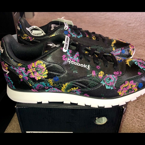 🆕🚹Reebok x Opening Ceremony  CL Leather Floral ! 483a58128